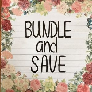 Get a double discount when bundle more 3+ items!